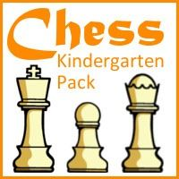 Free Kindergarten Chess Pack!  A great introduction to Chess!