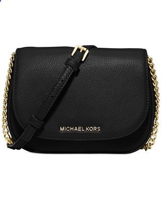 MICHAEL Michael Kors Bedford Small Crossbody Saddle Bag - Designer Handbags - Handbags Accessories - Macys