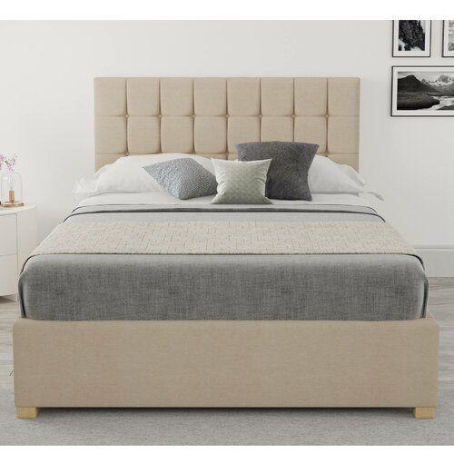 Mouzon Upholstered Ottoman Bed Brayden Studio Size Small Double