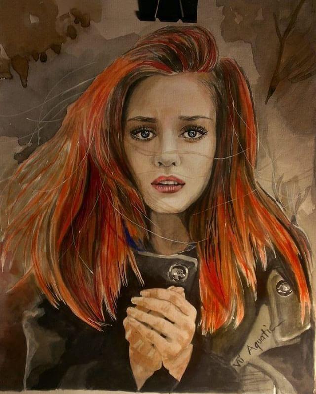 #watercolor #oilpainting #paint #painting #artist #art #arte #artwork #artistic  #artoftheday #gallery #painter #portrait  #vuaquatic .