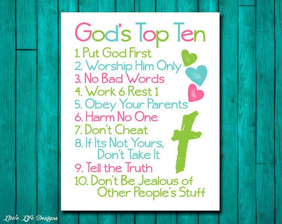christian wall art ten commandments bible verse god 39 s