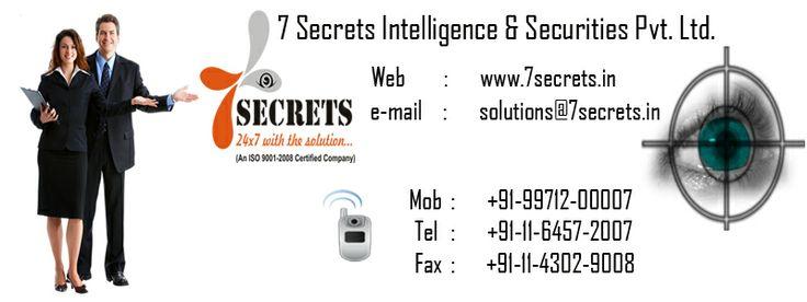 7 Secrets Corporate Intelligence service. http://www.7secrets.in/Corporate.php