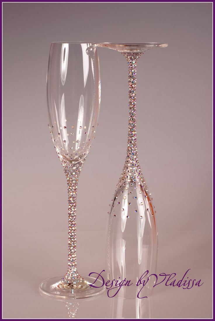 swarovski champagne flutes i feel like i could do this myself - Crystal Champagne Flutes
