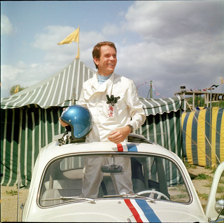 Dean Jones in The Love Bug (1968) Dean passed away Sept. 1, 2015 at the age of 84.