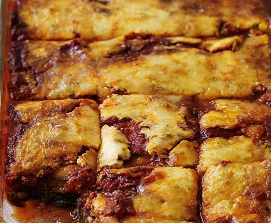 No-Noodle Vegetable Lasagna recipe from The Spice Quarter