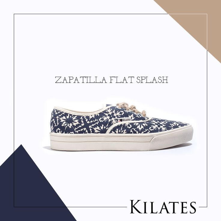 Zapatilla Flat Splash
