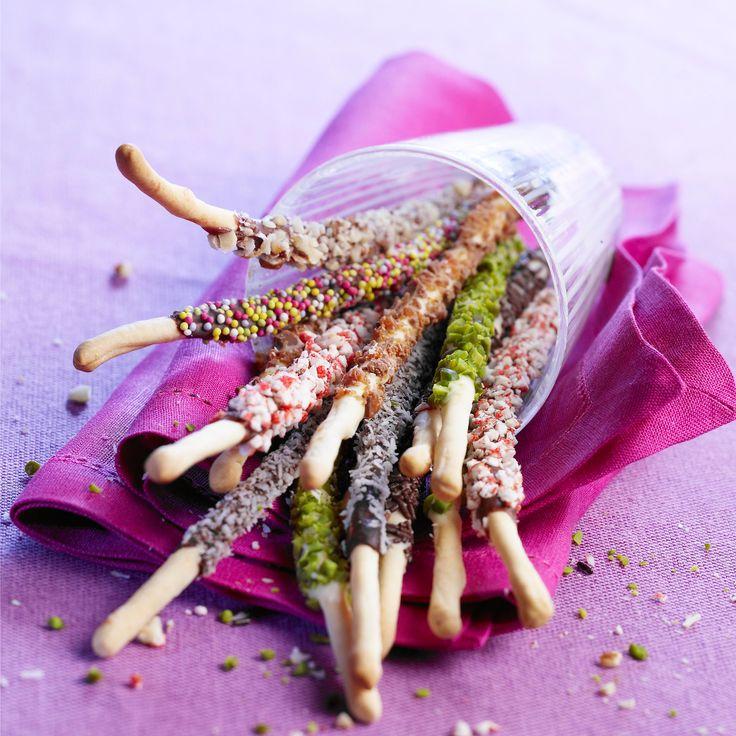 Découvrez la recette Mikados multicolores sur cuisineactuelle.fr.