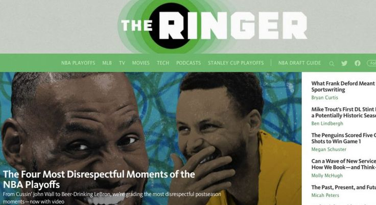 Learn about The Ringer Is Switching Up Platforms http://ift.tt/2qyavN8 on www.Service.fit - Specialised Service Consultants.