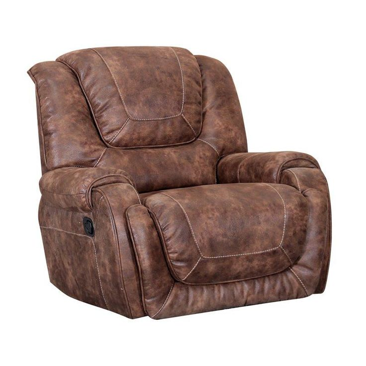 Barcalounger Vincent Power Recliner, Ford Chestnut. Casual contemporary power reclining motion group features horseshoe back design with articulated head rests, double pad over chaise seat design with pocketed coil springs for lasting good looks and superior comfort, plush saddle bag arms, and thick single needle top stitching on inside backs, seats and outside arms. Available as 3 seat power reclining sofa, 2 seat power reclining loveseat with console, and power recline wall proximity...