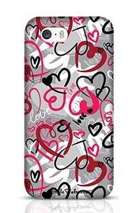 Love-Print Apple iPhone 5S Phone Case
