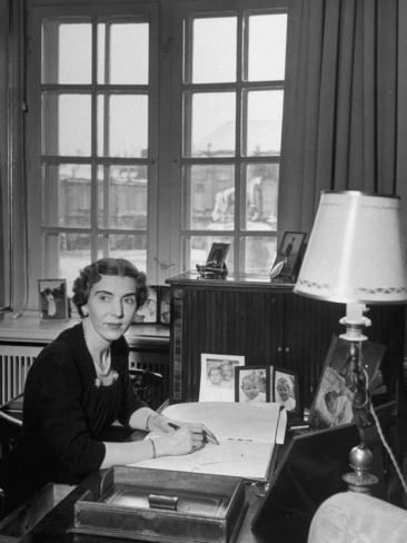 Queen Ingrid of Denmark, Danish royalty, history, photo, black and white, sitting by her desk, portrait, in respectfull memory, beloved lady,yes, she now rest with her husband Frederik the 9 of Denmark,thier graves are in Roskilde cathedral..