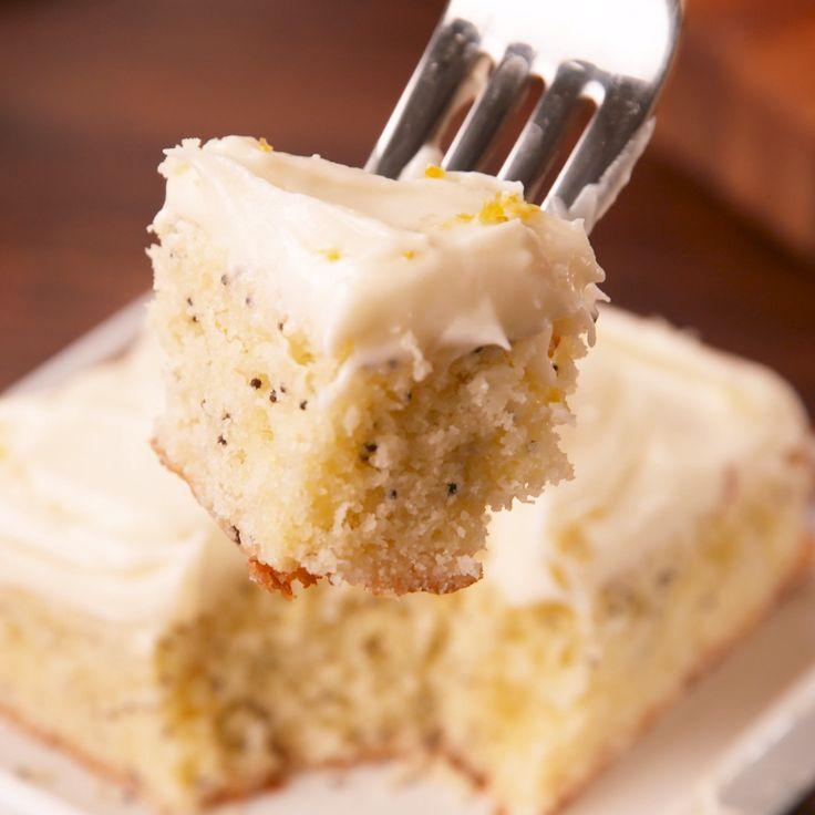We won't even apologize for calling this cake moist. #food #easyrecipe #dessert #baking #cake