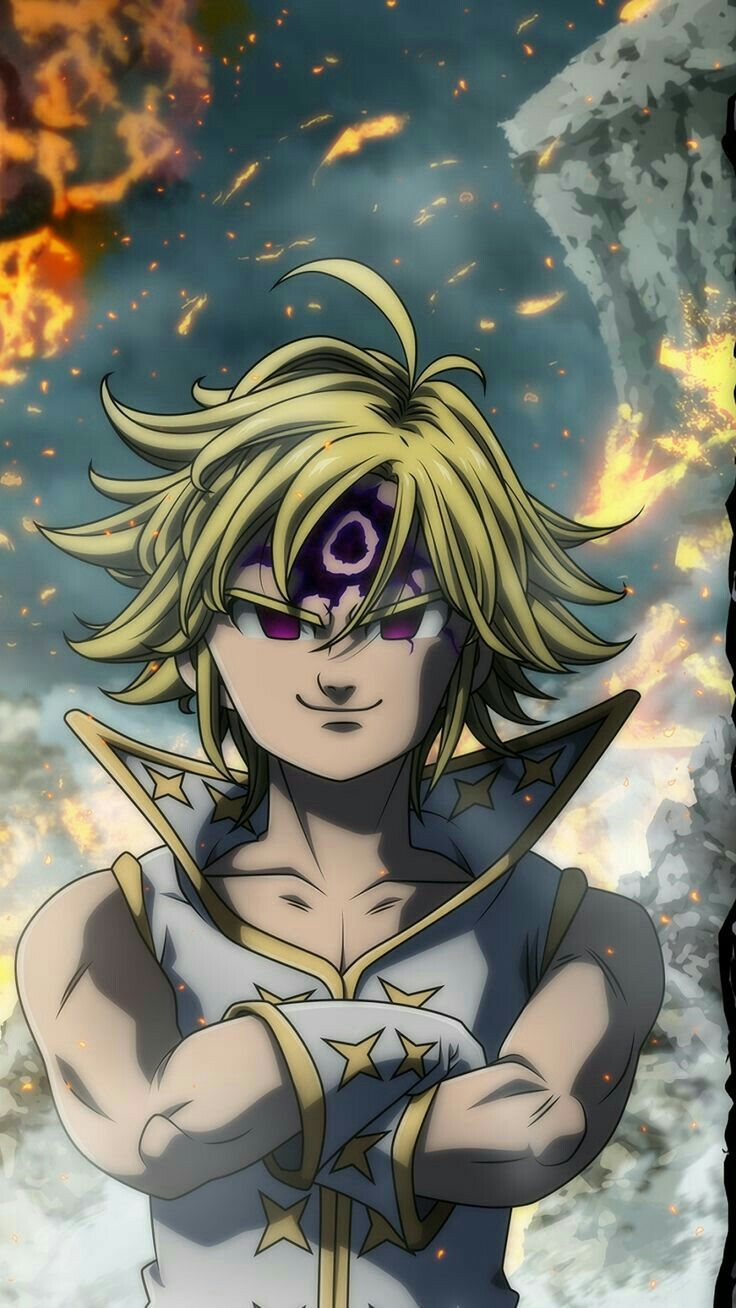 Meliodas The Dragon Sin Of Wraith 6 The Seven Deadly Sins Anime Seven Deadly Sins Anime Demon King Anime