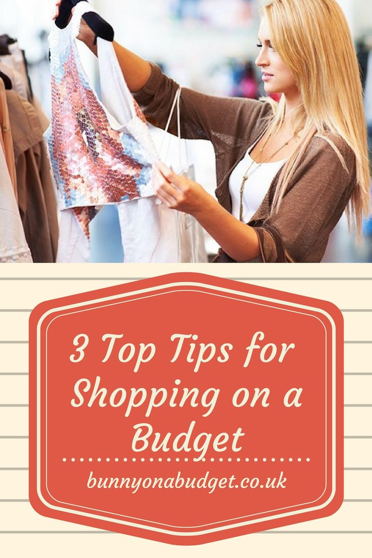 How can shopping on a budget be made simple? Here are my 3 top tips for shopping on a budget!