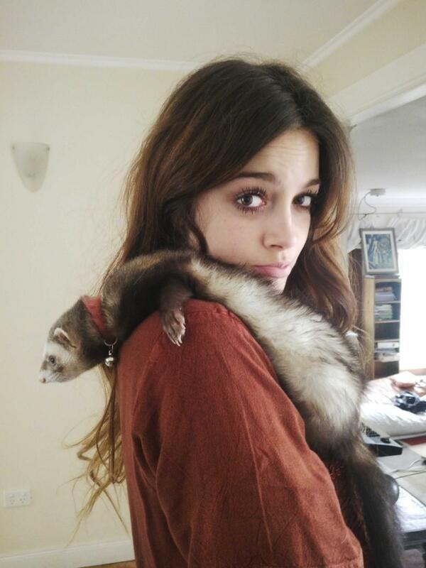 Oriana Sabatini y coco♡♡♡