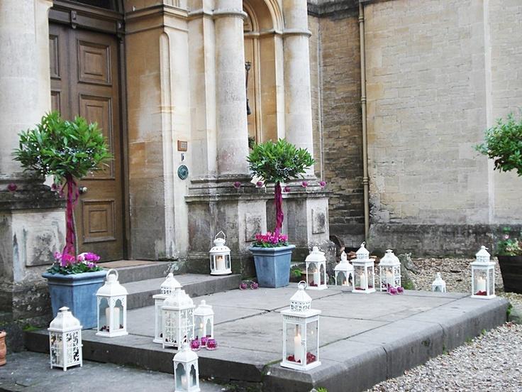 Velas iglesia boda iluminar y decorar la iglesia para - Como decorar velas ...