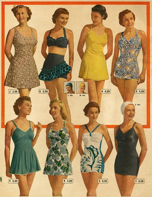 1949 Summer? catalog Eaton's (Canada). And I'd still wear most of these! Cute