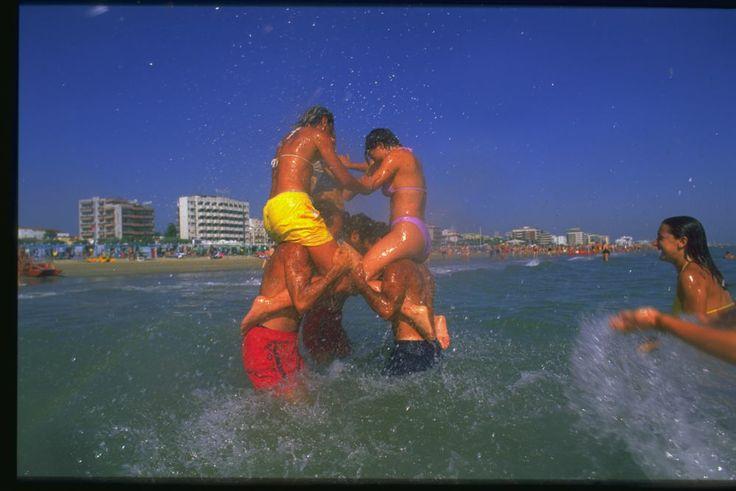divertimento in acqua