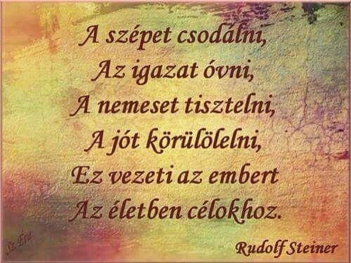 Rudolf Steiner megmondja