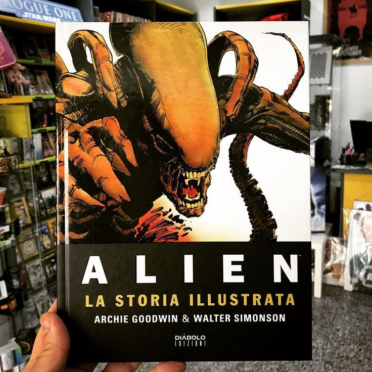 Alien. La Storia Illustrata, di Archie Goodwin e Walter Simonson /// 66 pagine a colori in una stupenda edizione cartonata, da non perdere!!!!  #thrauma #viareggio #alien #archiegoodwin #waltersimonson #fumetti #comics #diabloedizioni
