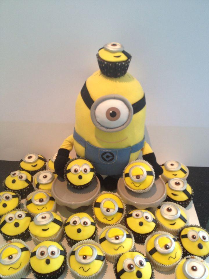 minion cupcakes rezept