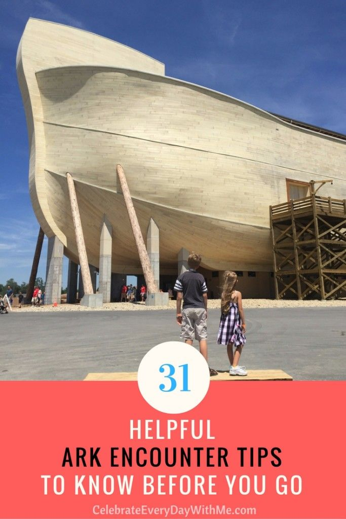 Planning a visit? Check out these Ark Encounter Tips before you take your family to see the amazing life-size Noah's Ark in Williamstown, Kentucky.