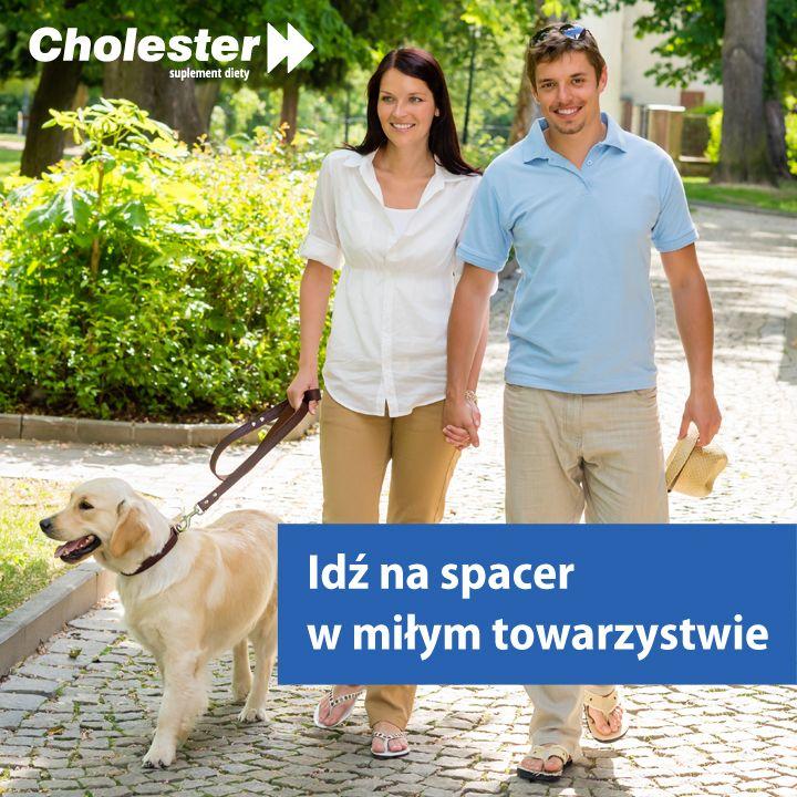 Spacer to najlepszy sposób na poprawę samopoczucia. #zdrowie #spacer #pies