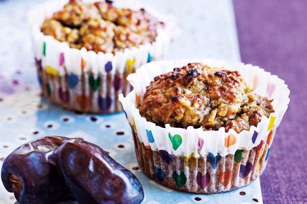Sukkerfri: Kokos- og bananmuffins