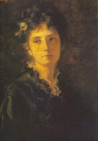 Miss Mesterházy - Székely, Bertalan - Academic Art - Oil on canvas - Portrait - TerminArtors