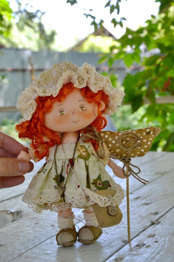 куклы ручной работы из ткани фото материнской стороны хабиба