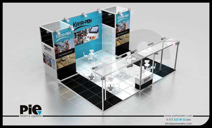 Kapı Pencere Cam Fuarı ''KAYA-PEN'' Stand Tasarımımız