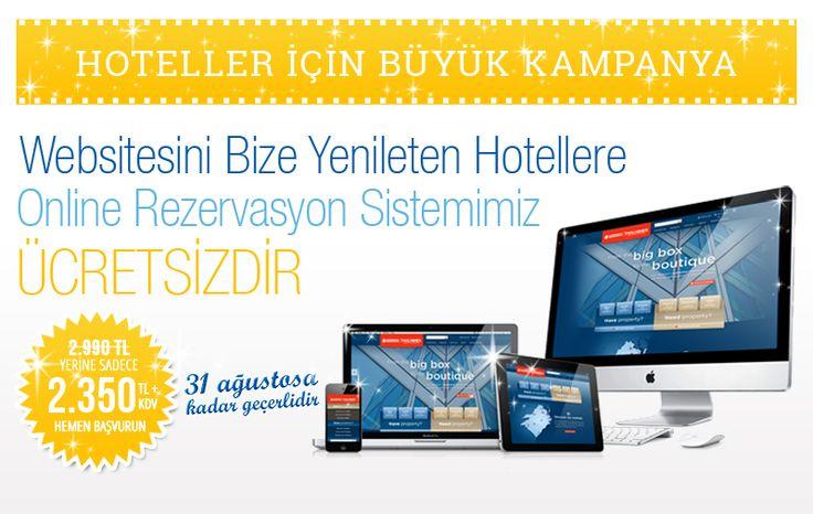 Websitesini Bize Yenileten Hotellere Online Rezervasyon Sistemimiz ÜCRETSİZDİR. Ayrıntılar ve başvuru için: http://www.surrealist.com.tr/duyurular/surrealistten-hoteller-icin-buyuk-kampanya #webtasarim #webtasarım #webdesign #hotel #online #rezervasyon #sistemi