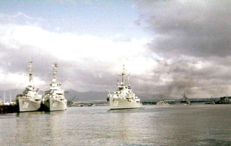 USS Maddox 731 - WWII