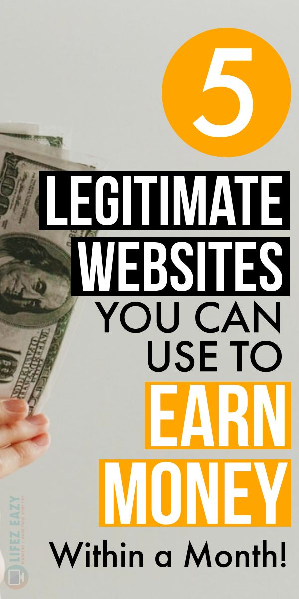 Legitimate Ways to Make Money Online Using These 5 Websites – Mahesh | Blogging Tips + SEO Tips + Work From Home Tips