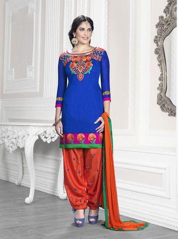 Fancy Patiyala | Unstiched | Salwar Suit