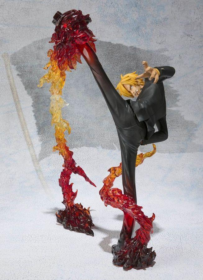 One Piece Figuarts ZERO SANJI Battle Ver. Diable Jambe Flambage Shot