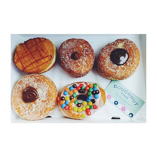 We have a VERY serious @doughnut_time addiction  #doughnuttime