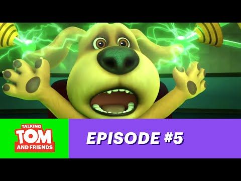 Talking Tom and Friends ep.5 - Magnetic Ben - YouTube