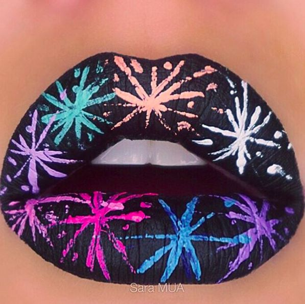 20 Wildly Gorgeous and Creative Lip Art Designs