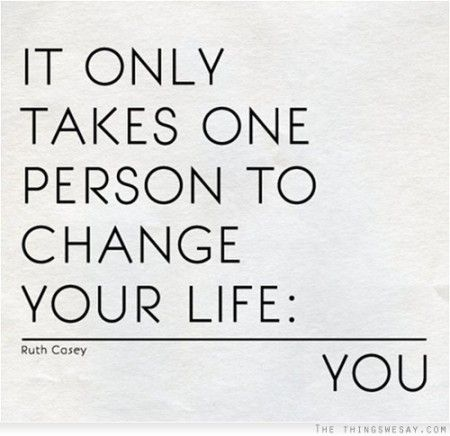 It Only Takes One Person To Change Your Life from Starling Fitness