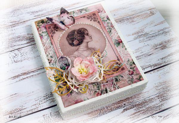 Artdeco Creations Brands: Cardmakers Treasure Box by Sue Smyth