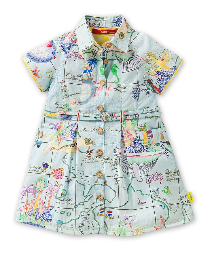 Take a look at this Blue Island Dinky Dress - Infant, Toddler & Girls on zulily today!