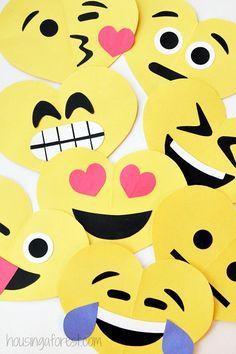 DIY Emoji Valentines Day Craft for Kids