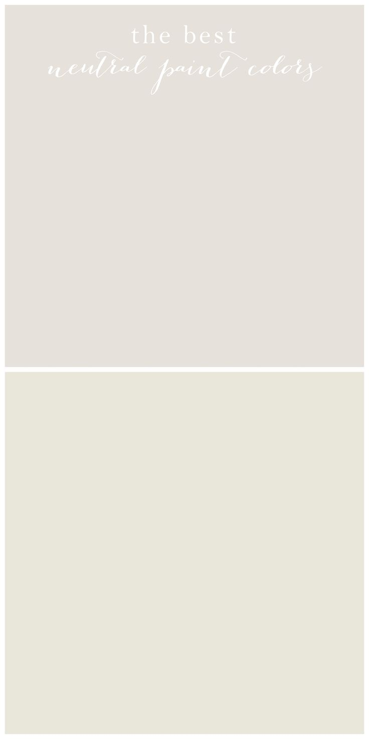 The look for less neutral paint colors neutral paint for Neutral white paint colors