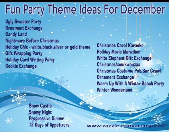 25 Unique Christmas Party Themes Ideas On Pinterest Holiday