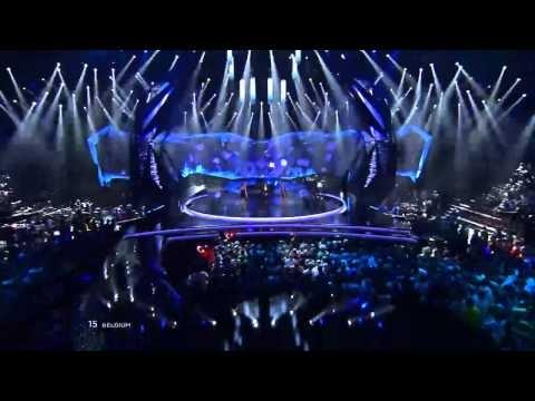 Eurovision 2013 Belgium: Roberto Bellarosa - Love Kills (LIVE AT FIRST SEMI-FINAL) - YouTube
