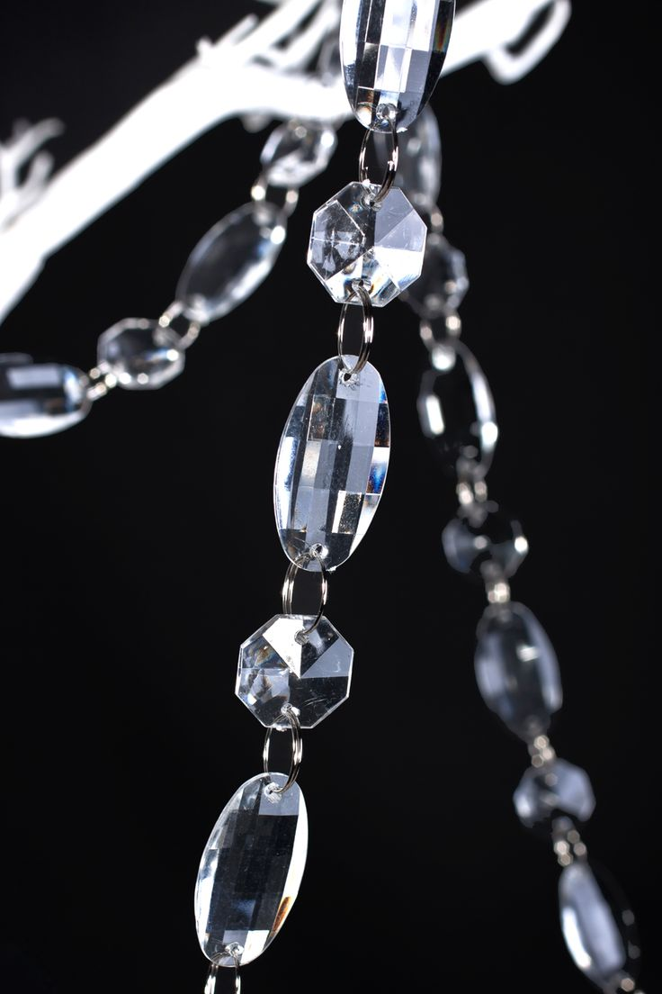 Clear door beads - This Awesome Strand Of High Quality Crystal Clear Acrylic Beads Is Perfect For Decorating A Wedding