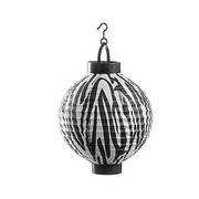 8 Inches Zebra Print Tissue lantern