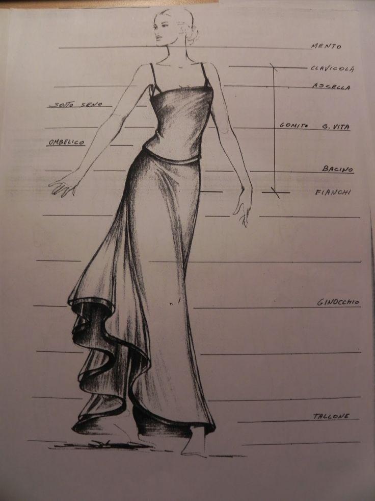 Super Oltre 25 fantastiche idee su Disegni di moda su Pinterest DJ85