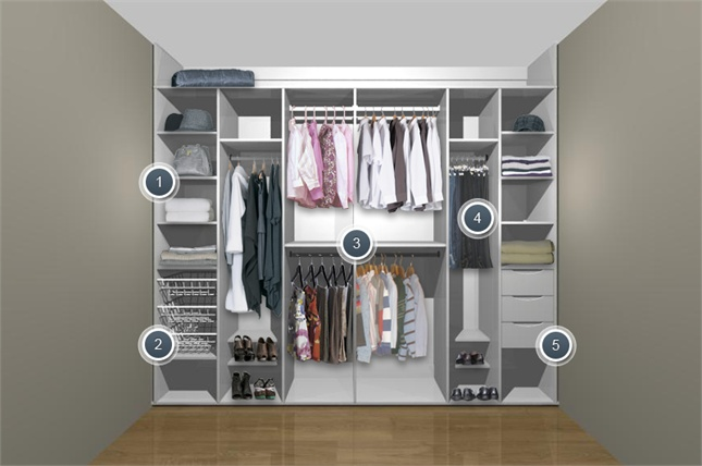 1000 images about archi on pinterest space saving beds for His and hers wardrobe